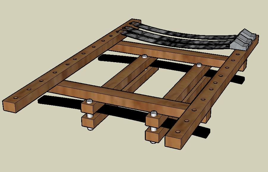 Roof Rack 3D Model