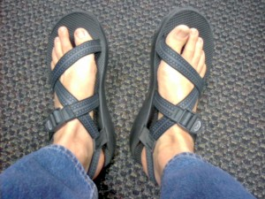 Chaco Sandals, repaired and as good as new!